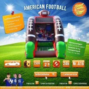 aufblasbares Spiel American Football