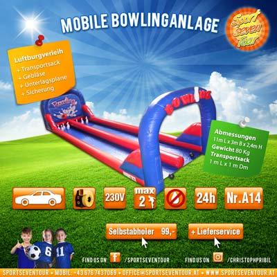 mobile Bowlingbahn mieten