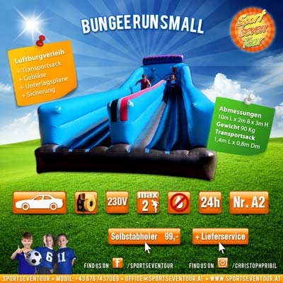 Bungee Run Verleih