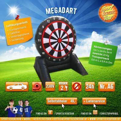 Megadart Spielstation mieten