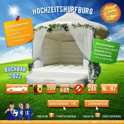 Hochzeits Hüpfburg mieten