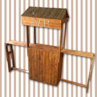 Holzbar mieten