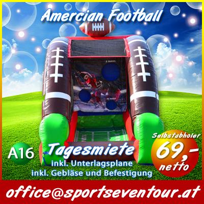Actiongame Amercian Football mieten