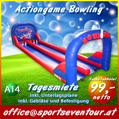 Actiongame Bowling mieten