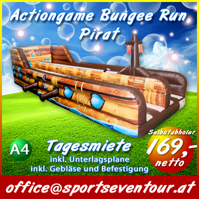 XL Bungee Run Pirat