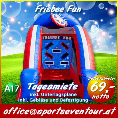 Actiongame Frisbee Fun mieten