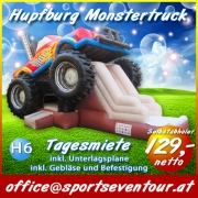 Hüpfburg Monstertruck mieten