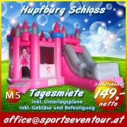 Hüpfburg Schloss mieten